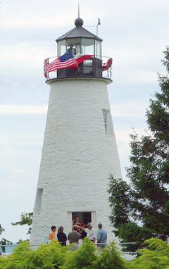 Concord Point Lighthouse on Fourth of July
