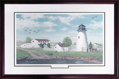 Concord Point Lighthouse Limited Edition Print