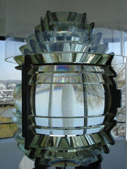 5th order Fresnel lens of the Concord Point Lighthouse in Havre de Grace, MD