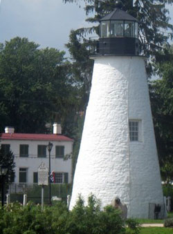 lighthouse in the daylight