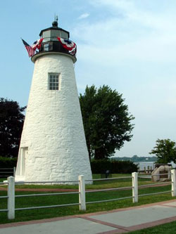 Concord Point Lighthouse in July