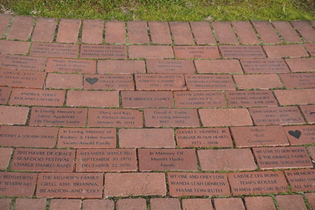 Legacy Pathway Bricks